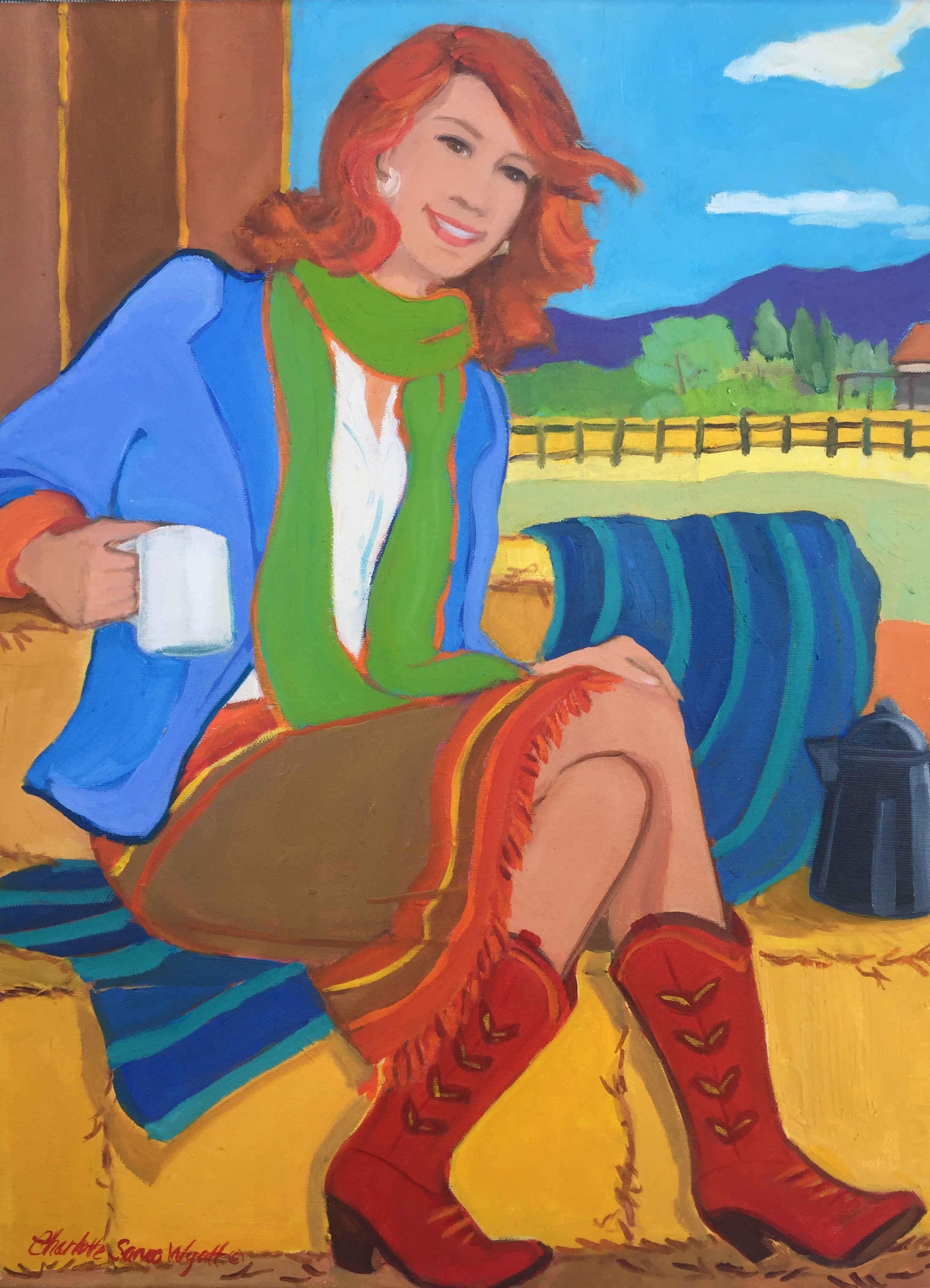 cowgirls, contemporary cowgirls, cowgirls in the west